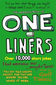The Mammoth Book of One-Liners, Paperback / softback Book