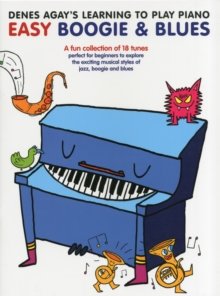 Denes Agay's Learning To Play Piano - Boogie & Blues, Paperback Book