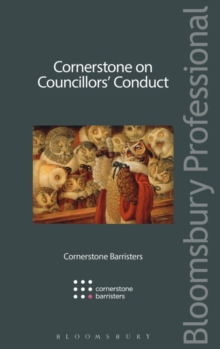 Cornerstone on Councillors' Conduct, Paperback / softback Book