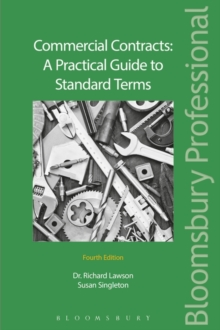 Commercial Contracts: A Practical Guide to Standard Terms, Mixed media product Book