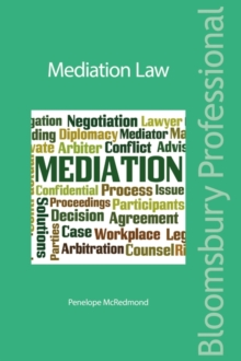 Mediation Law, Paperback / softback Book