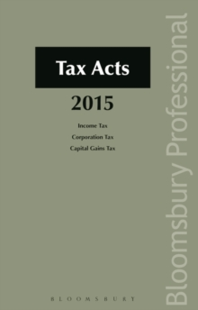 Tax Acts 2015, Paperback Book