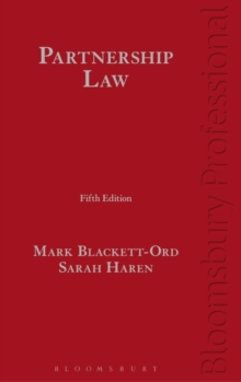 Partnership Law, Hardback Book