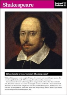 Shakespeare : The Instant Guide, Paperback / softback Book