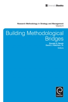Building Methodological Bridges, Hardback Book