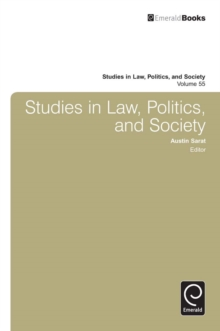 Studies in Law, Politics and Society, Hardback Book