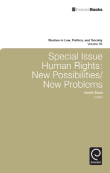 Special Issue: Human Rights : New Possibilities/New Problems, Hardback Book