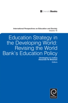 Education Strategy in the Developing World : Revising the World Bank's Education Policy, Hardback Book