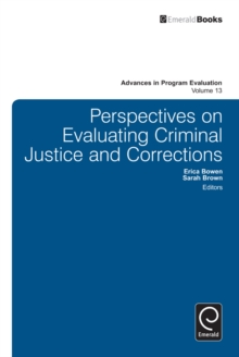 Perspectives on Evaluating Criminal Justice and Corrections, Hardback Book