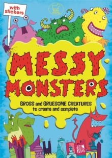 Messy Monsters, Paperback Book