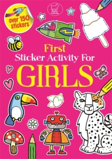 First Sticker Activity for Girls, Paperback Book