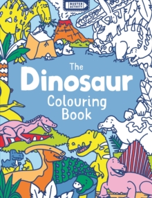 The Dinosaur Colouring Book, Paperback Book