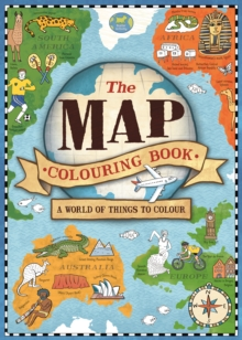 The Map Colouring Book, Paperback Book