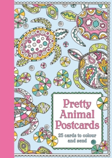 Pretty Animal Postcards, Postcard book or pack Book