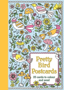 Pretty Bird Postcards, Postcard book or pack Book
