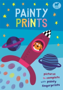 Painty Prints : Pictures to Complete with Painty Fingerprints, Paperback / softback Book