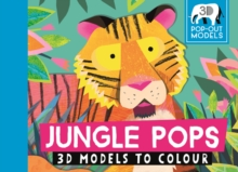 Jungle Pops : 3D Models to Colour, Postcard book or pack Book