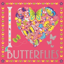 I Heart Butterflies, Paperback / softback Book