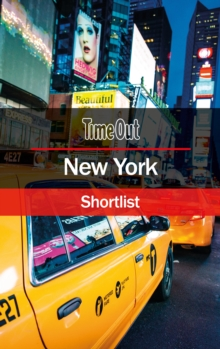 Time Out New York Shortlist : Pocket Travel Guide, Paperback Book
