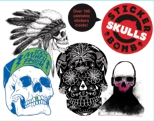 Stickerbomb Skulls, Paperback Book