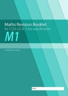 M1 Maths Revision Booklet for CCEA GCSE 2-tier Specification, Paperback / softback Book