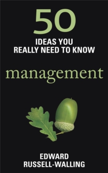 50 Management Ideas You Really Need to Know, Paperback Book