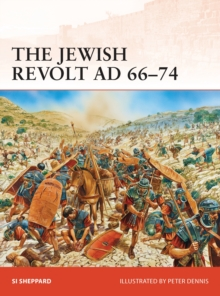 The Jewish Revolt AD 66-74, Paperback / softback Book