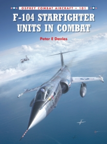 F-104 Starfighter Units in Combat, Paperback Book