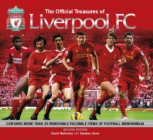 Official Treasures of Liverpool FC, Hardback Book