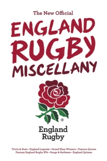 The New Official England Rugby Miscellany, Hardback Book