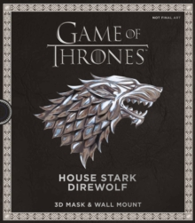 Game of Thrones Mask: House Stark Direwolf, Mixed media product Book