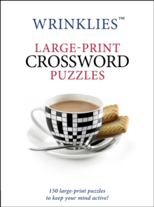 Wrinklies Large-Print Crossword Puzzles, Paperback / softback Book