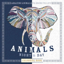 Animals Night & Day Colouring Book, Paperback Book