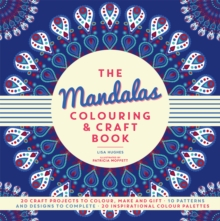 The Mandalas Colouring & Craft Book, Paperback Book
