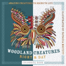Woodland Creatures Night & Day Colouring Book, Paperback / softback Book