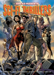2000 AD Presents Sci-fi Thrillers, Paperback Book