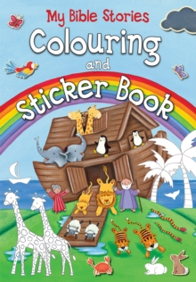 My Bible Stories Colouring and Sticker Book, Paperback / softback Book