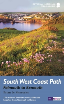 South West Coast Path: Falmouth to Exmouth, Paperback Book