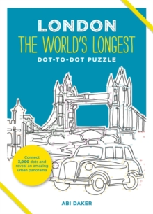 LONDON The World's Longest Dot-to-Dot Puzzle, Hardback Book