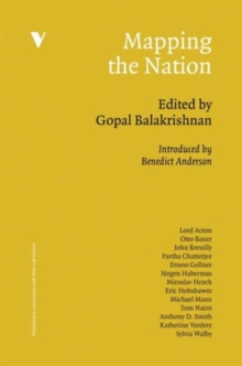 Mapping the Nation, Hardback Book