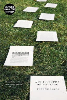 A Philosophy of Walking, Paperback Book