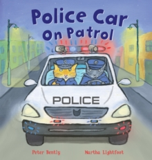 Police Car on Patrol, Paperback Book
