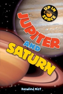 Up in Space: Jupiter and Saturn (QED Reader), Paperback Book