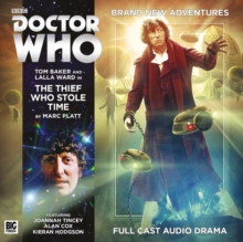 The Fourth Doctor Adventures - The Thief Who Stole Time, CD-Audio Book
