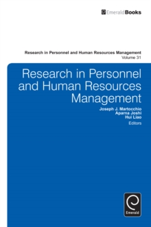 Research in Personnel and Human Resources Management, Hardback Book