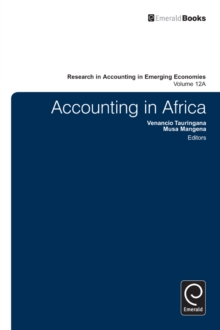 Accounting in Africa, Hardback Book