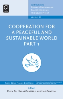 Cooperation for a Peaceful and Sustainable World, Hardback Book