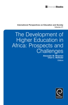 Development of Higher Education in Africa : Prospects and Challenges, Hardback Book