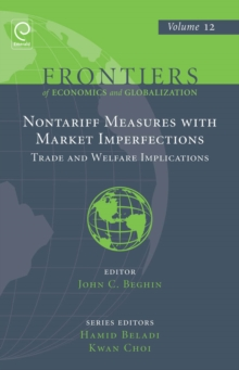Non Tariff Measures with Market Imperfections : Trade and Welfare Implications, Hardback Book