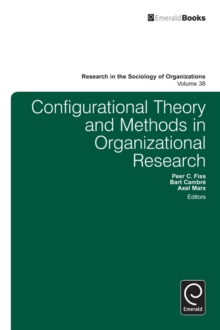 Configurational Theory and Methods in Organizational Research, Paperback / softback Book